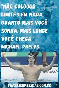 frase nadados Michel Phelps