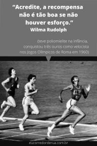 frase de atleta campeã olímpica
